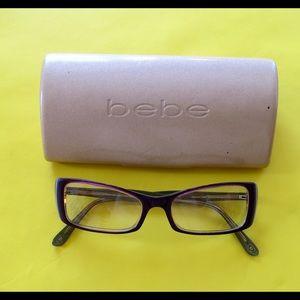 Bebe optical frames with case
